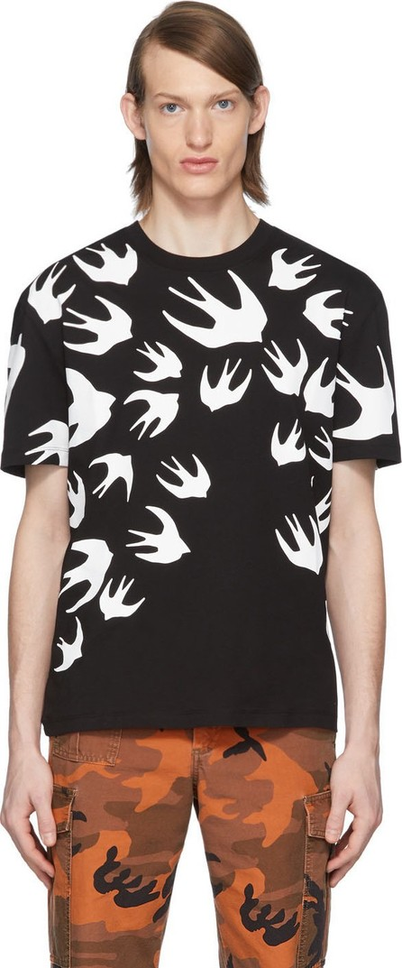 McQ - Alexander McQueen Black Swallow T-Shirt