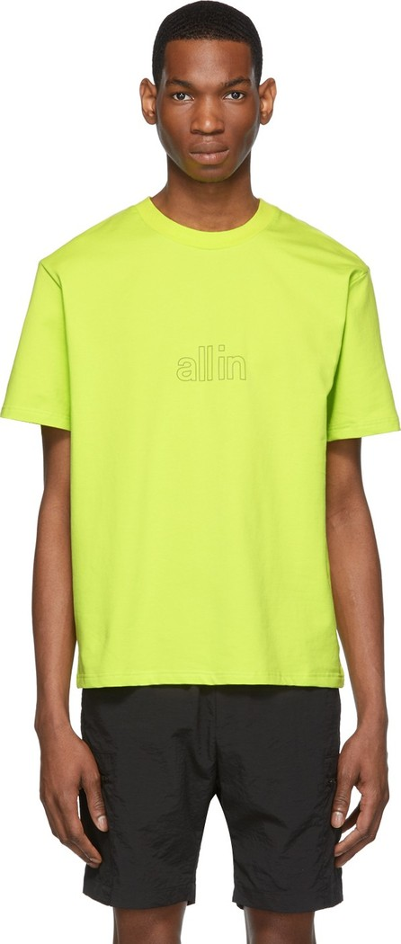 all in SSENSE Exclusive Yellow Spider Poison T-Shirt