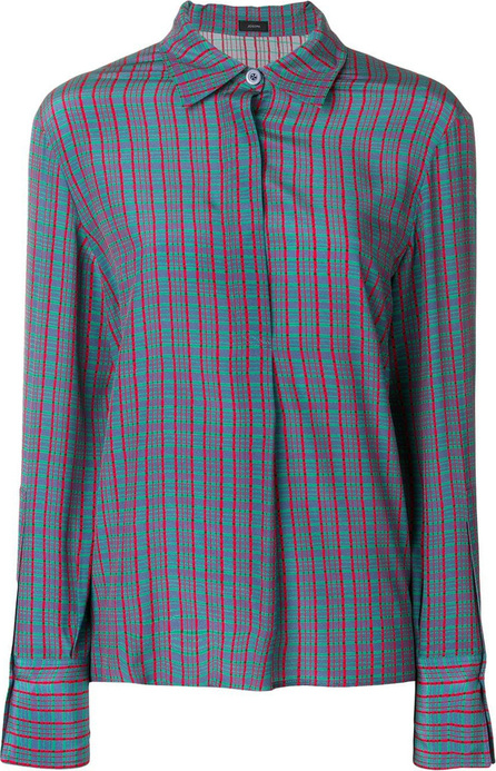 Joseph Cart check blouse