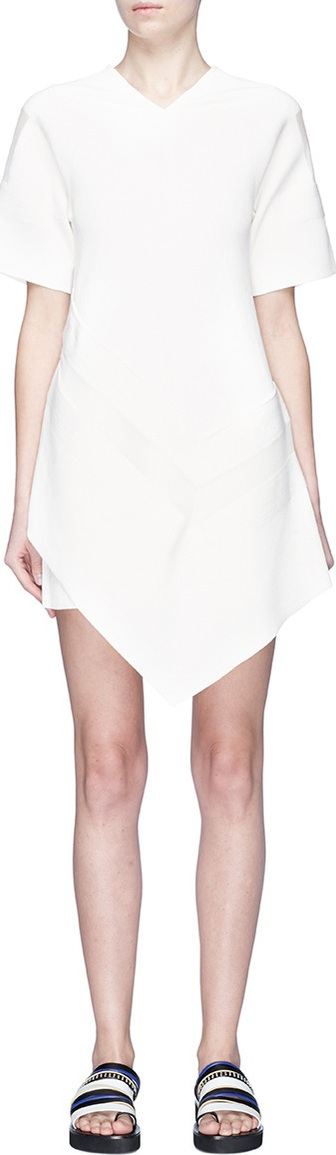 3.1 Phillip Lim Chiffon panel handkerchief dress
