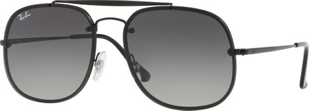 Ray Ban General Blaze Lens-Over-Frame Square Sunglasses