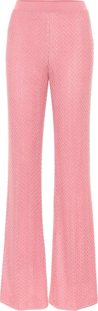 Missoni Crochet flared pants