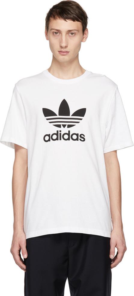 Adidas Originals White Trifold T-Shirt