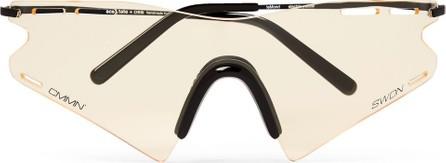 Cmmn Swdn + Ace & Tate LeMond Square-Frame Metal Sunglasses