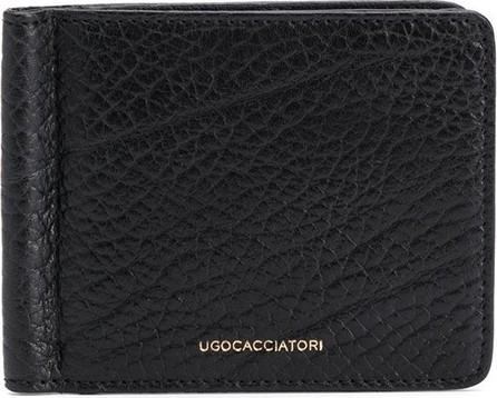 Ugo Cacciatori Textured leather wallet