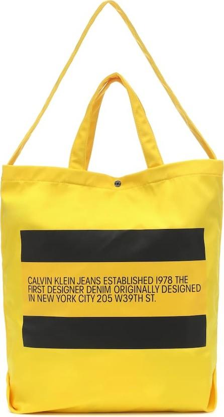 Calvin Klein Jeans Logo Small nylon tote
