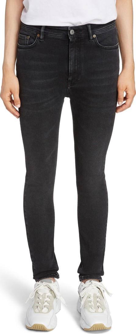 Acne Studios Peg High Waist Skinny Jeans