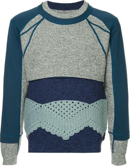 Craig Green Crochet panel jumper