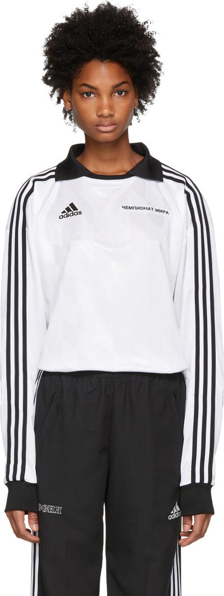 Gosha Rubchinskiy White adidas Originals Edition Football Jersey Polo