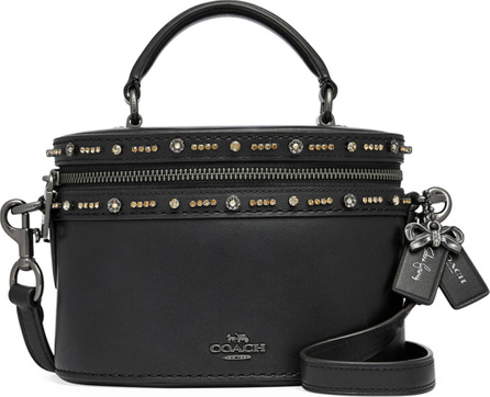COACH x Selena Gomez Trail Embellished Crossbody Bag