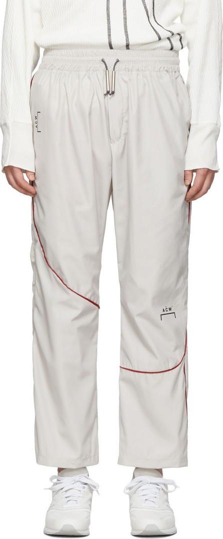 A-Cold-Wall* Grey Piping Lounge Pants