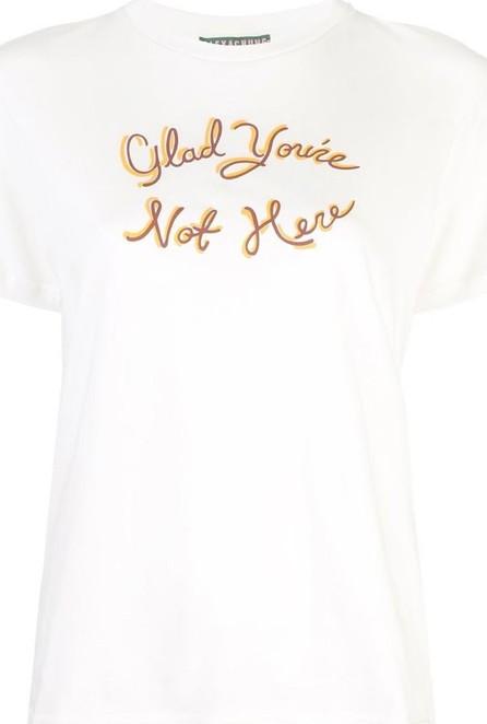 Alexachung Glad You're Not Here T-shirt
