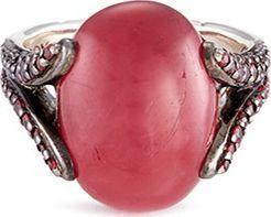 John Hardy 'Celestial Orb' rhodonite sapphire silver ring