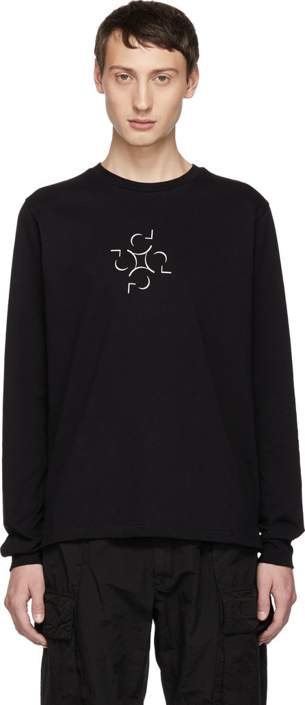Cottweiler SSENSE Exclusive Black Graphic Long Sleeve T-Shirt