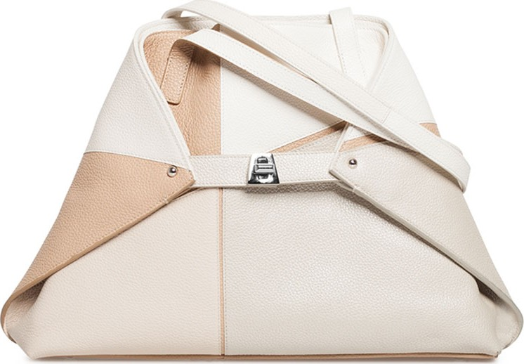 4b3b01a73a1b Akris Ai Sunrise Small Soft Shoulder Tote Bag - Mkt