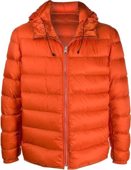 Ten C Zipped padded jacket
