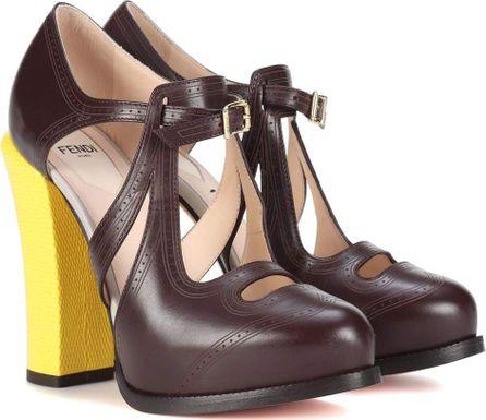 Fendi Leather pumps