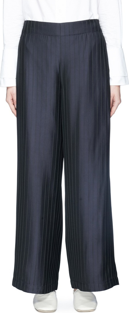 Acne Studios 'Tennessee' pinstripe twill wide leg pants