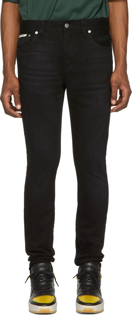 Essentials Black Skinny Taper Jeans