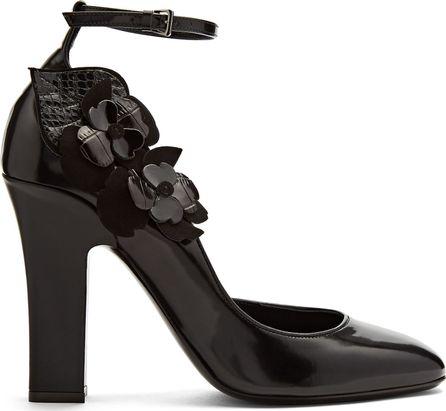 Fabrizio Viti Violets For Your Fur leather pumps