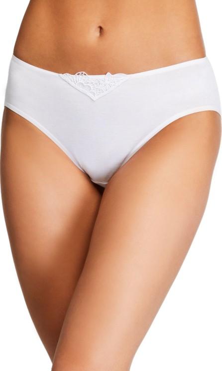 Hanro Flora High-Cut Bikini Briefs
