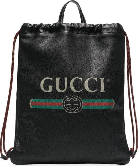 Gucci Leather drawstring backpack bag