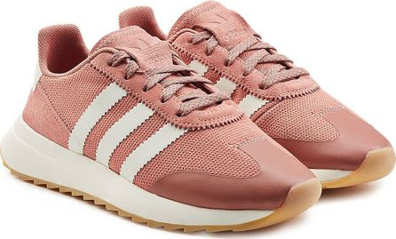 Adidas Originals Flashback Sneakers with Leather and Suede