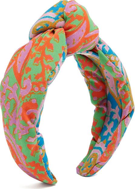 FIGUE Loulou paisley-print headband