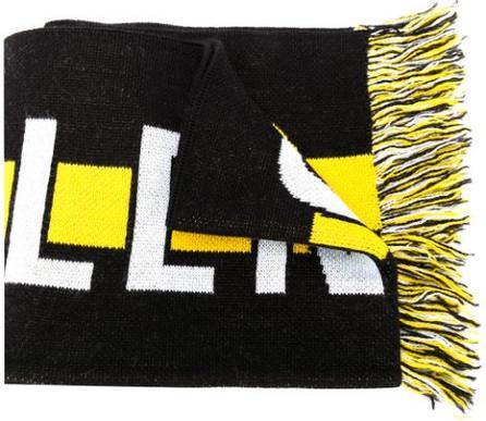 Balenciaga Soccer knitted scarf