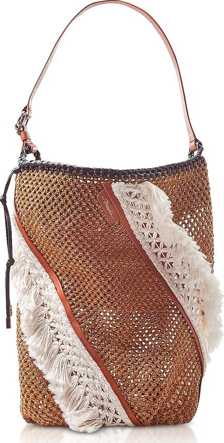 3.1 Phillip Lim Marlee Open Weave Bag W/Fringes