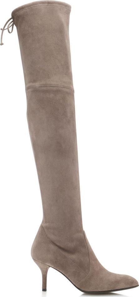 Stuart Weitzman Tiemodel Over-the-Knee Suede Boots