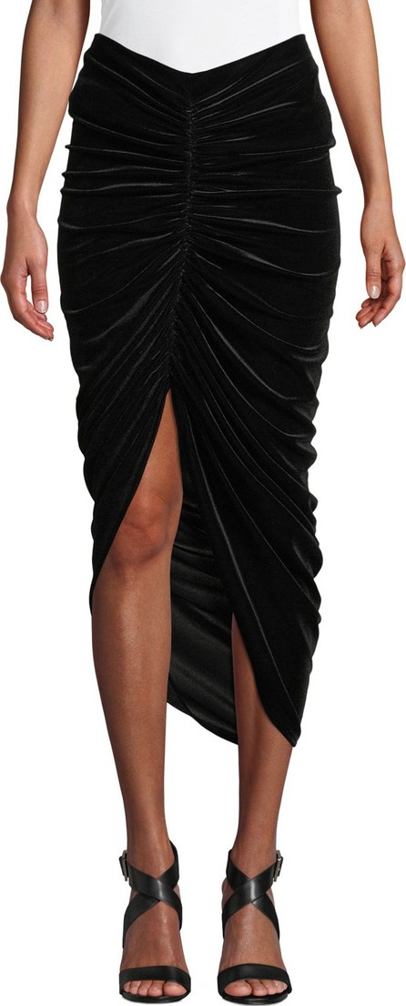 Bailey 44 Any Seven Velvet Ruched Tulip Skirt