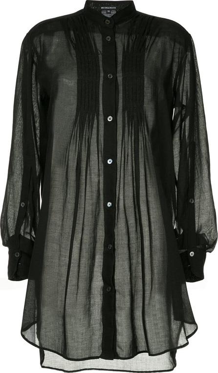 Ann Demeulemeester Pleated blouse