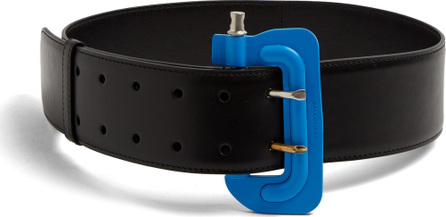 Balenciaga Clamp-buckle leather belt