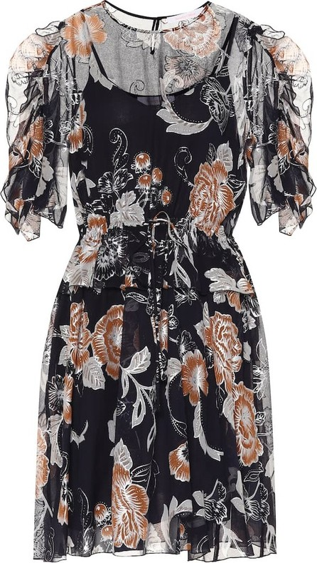 See By Chloé Floral midi dress