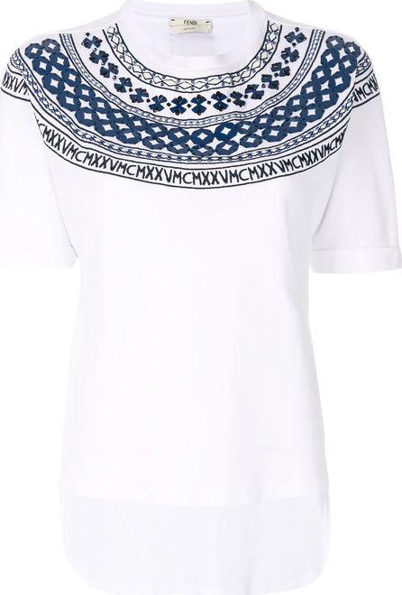 Fendi Mini-Maxi T-shirt