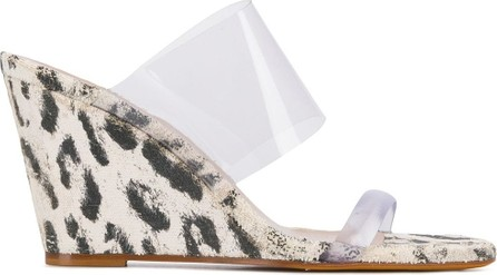 Maryam Nassir Zadeh Olympia 95mm animal-print sandals