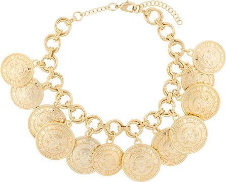 Balmain medals necklace