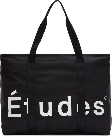 Etudes Black August Duffle Bag