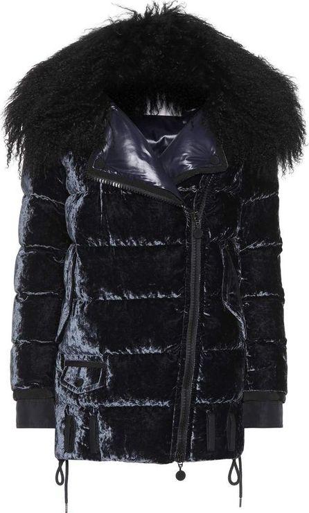 Moncler Isabelle velvet down coat