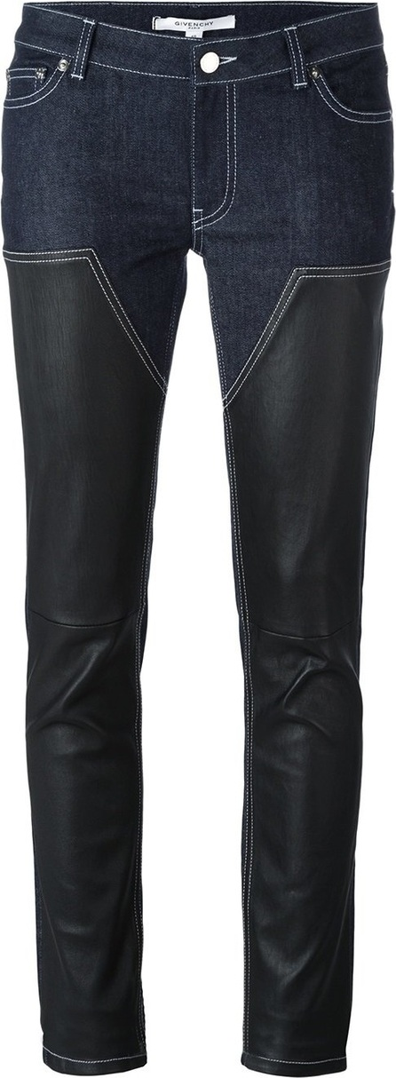 Givenchy panelled skinny trousers