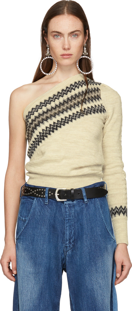 Isabel Marant White Dulcie Wild West Sweater