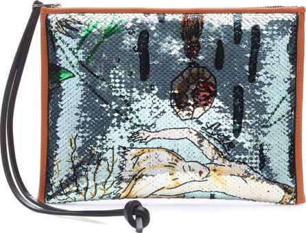 LOEWE X Paula's Ibiza Mermaid clutch