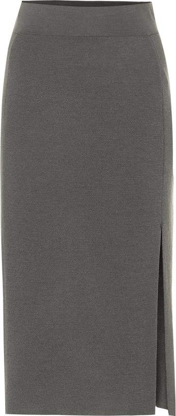 81hours Tad wool midi skirt