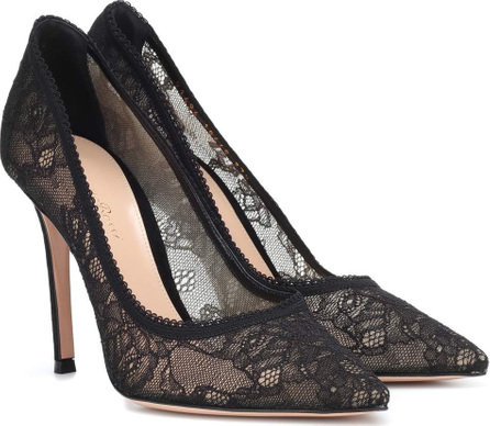 Gianvito Rossi Liliane lace pumps