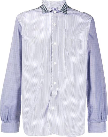Junya Watanabe MAN Striped long-sleeve shirt