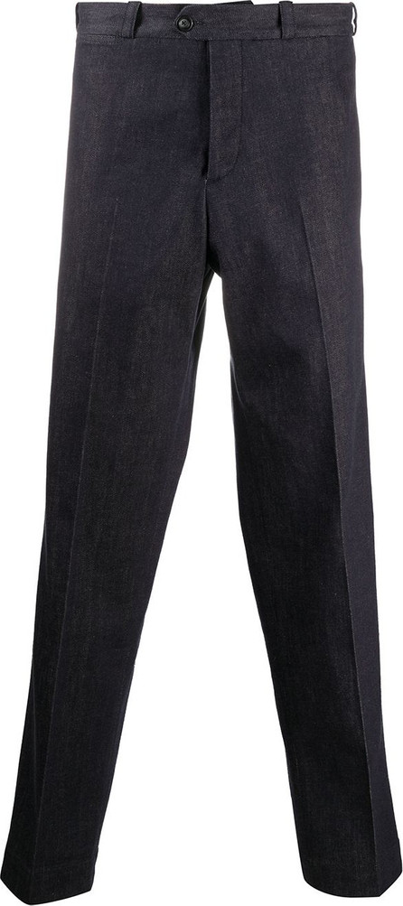 Pt01 Tailored straight-leg trousers