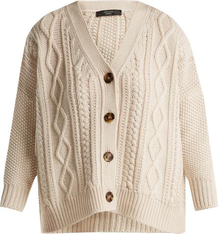 Weekend Max Mara Cable knit wool cardigan