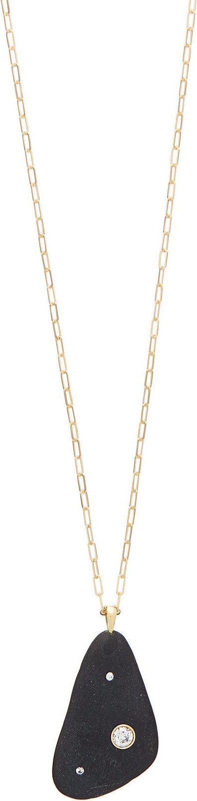 Cvc Stones Mythic diamond & 18kt gold necklace
