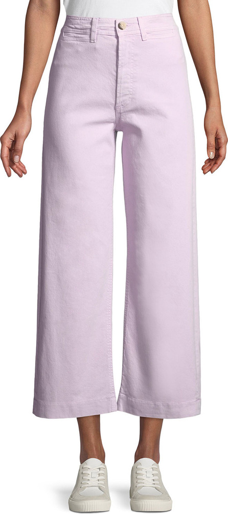M.i.h Jeans Caron High-Rise Cropped Wide Leg Pants